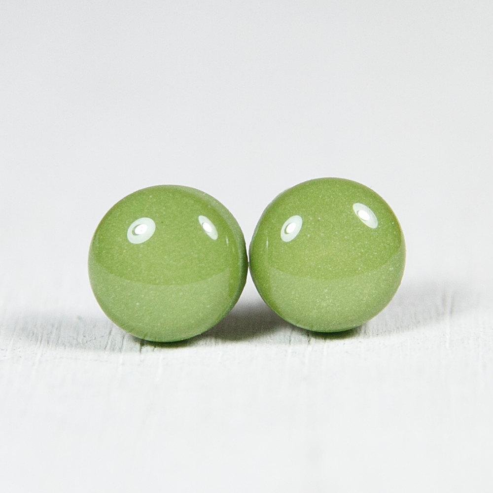 how to make polymer clay earrings studs